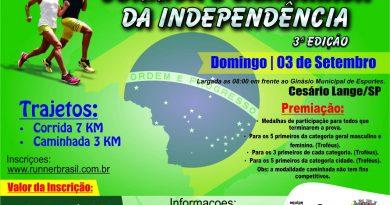 Corrida e Caminhada da Independência