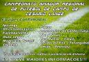 CAMPEONATO AMADOR REGIONAL DE FUTEBOL DE CAMPO EM CESÁRIO LANGE