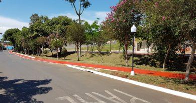 AVENIDA OSVALDO VIEIRA DE CAMARGO (ENTRADA DA CIDADE) E AVENIDA BENEDITO CAMARGO BARROS (PISTA DE CAMINHADA) SÃO REVITALIZADAS