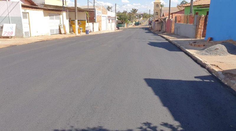 Obras de Recapeamento na vila do Cruzeiro CONCLUÍDAS!