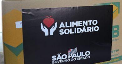 """O Departamento de Assistência e Desenvolvimento Social irá iniciar a entrega de 203 cestas básicas do programa """"Alimento Solidário"""", instituído pelo Decreto Estadual 64.938 de 13 de abril de 2020."""
