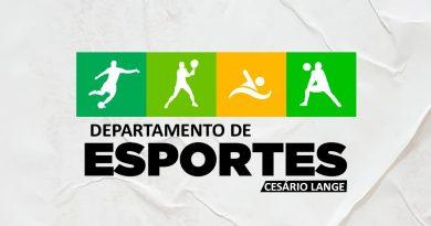 DEPARTAMENTO DE ESPORTES abre chamamento público para a contratação de prestador de serviços para o projeto de futebol.